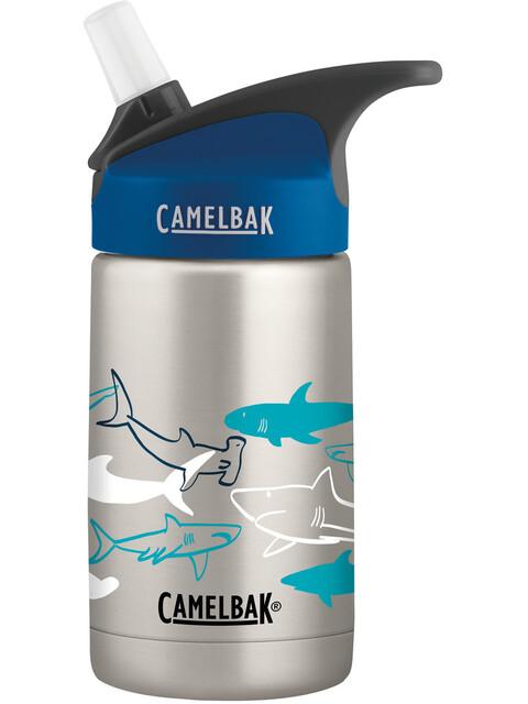 CamelBak eddy Vacuum Insulated Stainless Bottle Kids 400ml sketchy sharks